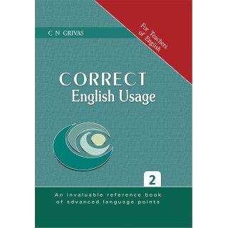 CORRECT ENGLISH USAGE 2