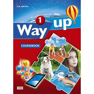 WAY UP 1 COURSEBOOK & WRITING TASK BOOKLET STUDENT'S SET