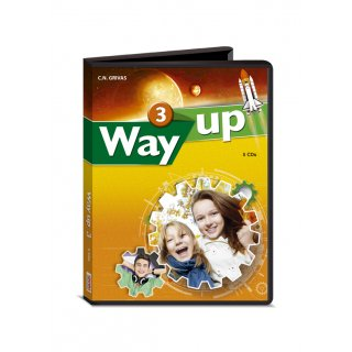 WAY UP 3 AUDIO CDs (5)