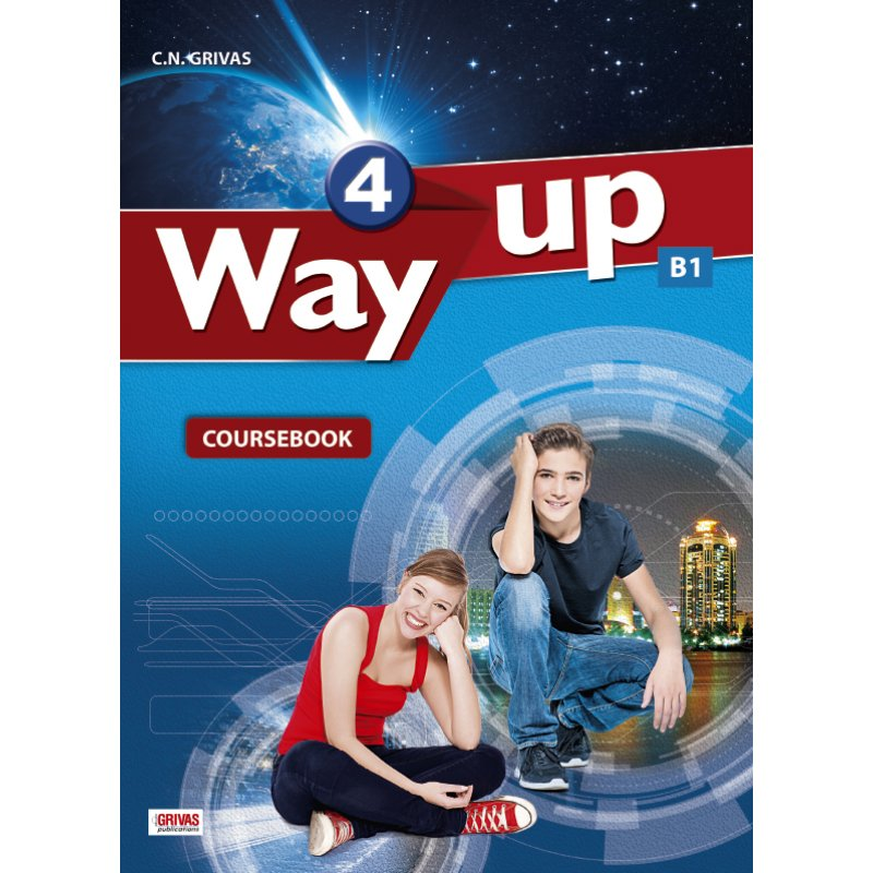 WAY UP 4 COURSEBOOK & WRITING TASK BOOKLET STUDENT'S SET
