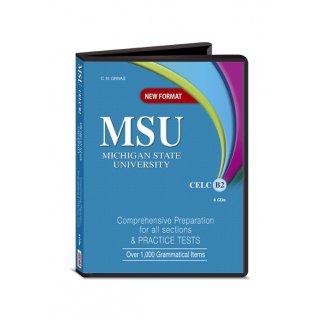 NEW FORMAT MSU CELC B2 AUDIO CDs (4)