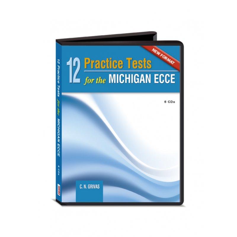 NEW FORMAT 12 ECCE PRACTICE TESTS AUDIO CDs(6)