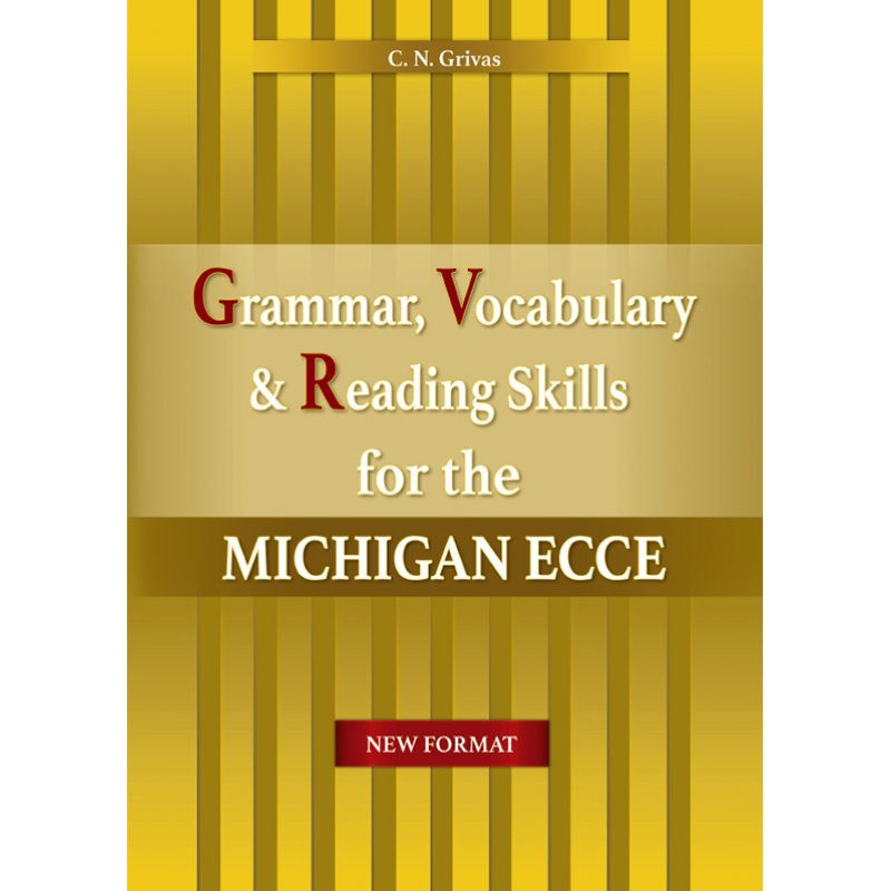 NEW FORMAT ECCE SKILLS:GRAMMAR, VOCABULARY, READING & COMPANION STUDENT'S SET