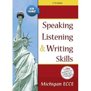 NEW FORMAT ECCE SKILLS:SPEAKING, LISTENING, WRITING & PRACTICE TESTS STUDENT'S SET