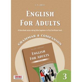ENGLISH FOR ADULTS 3 GRAMMAR & COMPANION