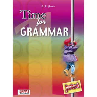 TIME FOR GRAMMAR JUNIOR A'  STUDENT'S