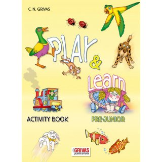 PLAY & LEARN  PREJUNIOR ACTIVITY BOOK