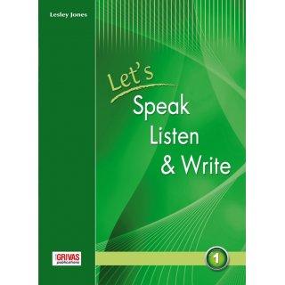 LET'S SPEAK, LISTEN & WRITE 1 STUDENT'S