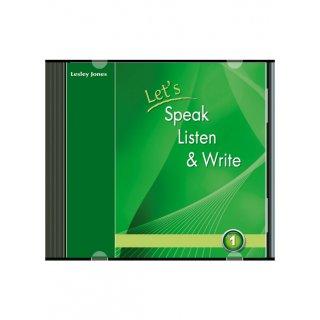 LET'S SPEAK, LISTEN & WRITE 1 AUDIO CD