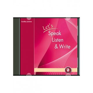 LET'S SPEAK, LISTEN & WRITE 2 AUDIO CD