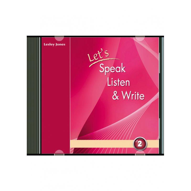 LET'S SPEAK, LISTEN & WRITE 2 AUDIO CD