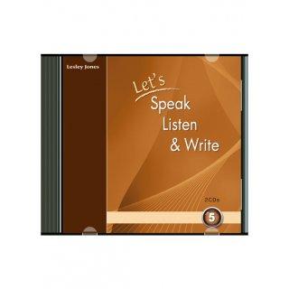 LET'S SPEAK, LISTEN & WRITE 5 AUDIO CDs (2)