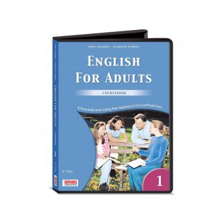 ENGLISH FOR ADULTS 1 COURSEBOOK AUDIO CDs (6)