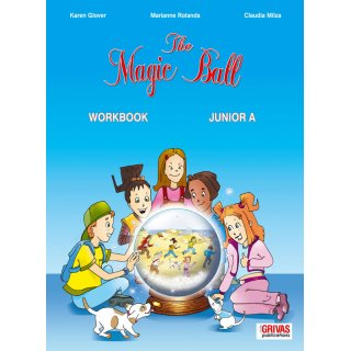 THE MAGIC BALL JUNIOR A' WORKBOOK & WORDS & GRAMMAR SB SET