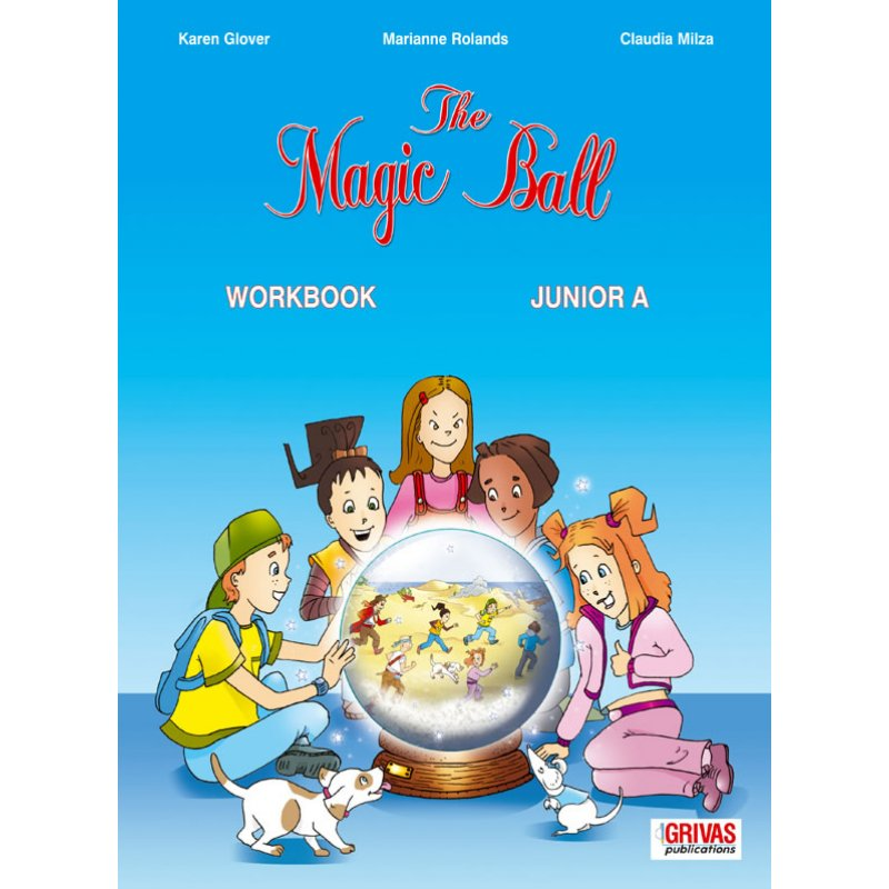 THE MAGIC BALL JUNIOR A' WORKBOOK & WORDS & GRAMMAR SB SET