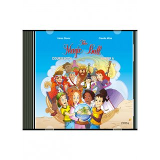 THE MAGIC BALL JUNIOR A' AUDIO CDs (2)