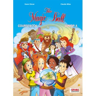 THE MAGIC BALL JUNIOR A' COURSEBOOK & STARTER SB SET