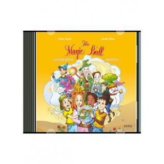 THE MAGIC BALL JUNIOR B' AUDIO CDs (2)