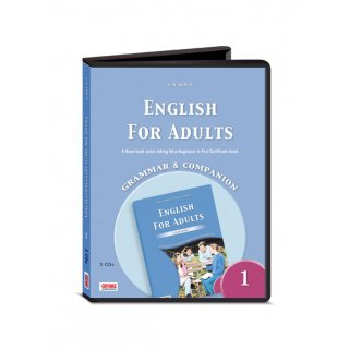 ENGLISH FOR ADULTS 1 GRAMMAR & COMPANION AUDIO CDs (3)