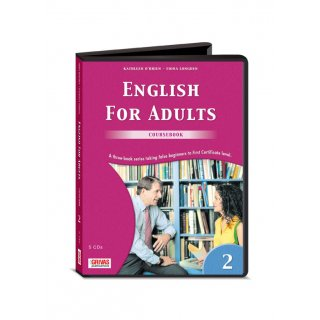 ENGLISH FOR ADULTS 2 COURSEBOOK AUDIO CDs (5)