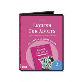 ENGLISH FOR ADULTS 2 GRAMMAR & COMPANION AUDIO CDs (3)