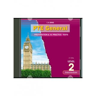 PTE 2 PREPARATION & PRACTICE TESTS AUDIO CDs (2)