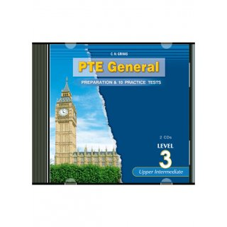 PTE 3 PREPARATION & PRACTICE TESTS AUDIO CDs (2)