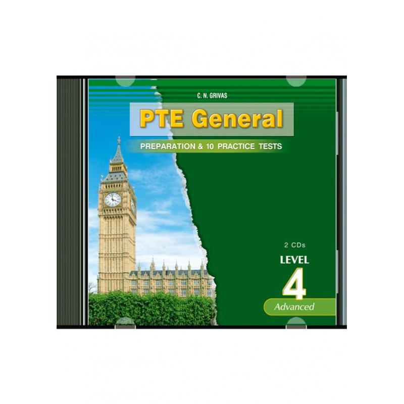 PTE 4 PREPARATION & PRACTICE TESTS AUDIO CDs (2)