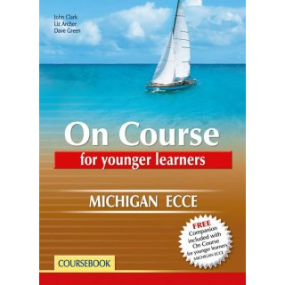 ON COURSE ECCE FOR YOUNGER LEARNERS COURSEBOOK & COMPANION SB SET