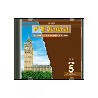 PTE 5 PREPARATION & PRACTICE TESTS AUDIO CDs (2)