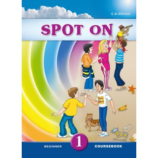 SPOT ON 1 COURSEBOOK & WRITING BOOKLET SB SET
