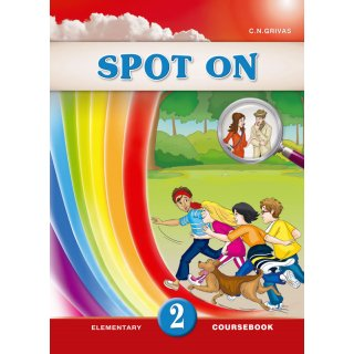 SPOT ON 2 COURSEBOOK & WRITING BOOKLET SB SET