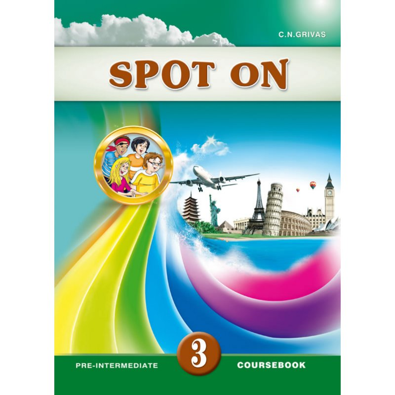 SPOT ON 3 COURSEBOOK & WRITING BOOKLET SB SET