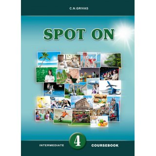 SPOT ON 4 COURSEBOOK & WRITING BOOKLET SB SET