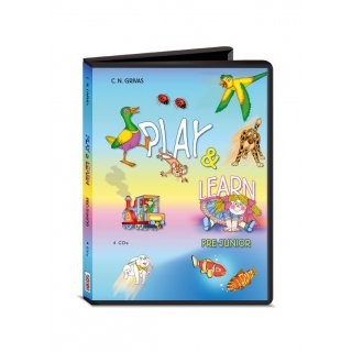 PLAY & LEARN PREJUNIOR AUDIO CDs (4)
