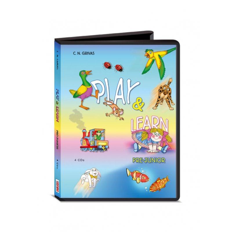 PLAY & LEARN PREJUNIOR AUDIO CDs (4)