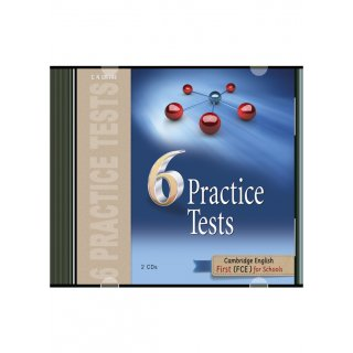 FCE 6 PRACTICE TESTS AUDIO CDs(2) FORMAT 2015