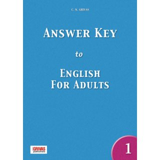 ENGLISH FOR ADULTS 1 ANSWER KEY