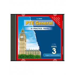 NEW PTE 3 PRACTICE TESTS AUDIO CDs (2)
