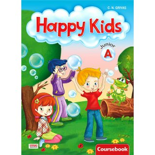 HAPPY KIDS JUNIOR A' COURSEBOOK & STARTER SB SET