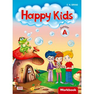 HAPPY KIDS JUNIOR A' WORKBOOK & WORDS & GRAMMAR SB SET