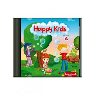 HAPPY KIDS JUNIOR A' AUDIO CDs (2)