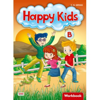 HAPPY KIDS JUNIOR B' WORKBOOK & WORDS & GRAMMAR SB SET