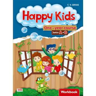 HAPPY KIDS BUMPER (A+B) WORKBOOK & WORDS & GRAMMAR SB SET