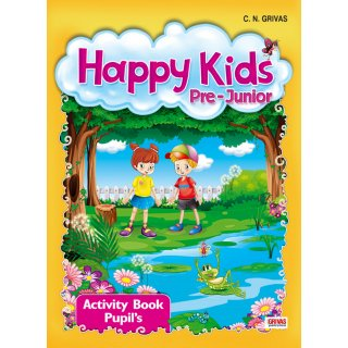 HAPPY KIDS PREJUNIOR ACTIVITY STUDENT'S SET