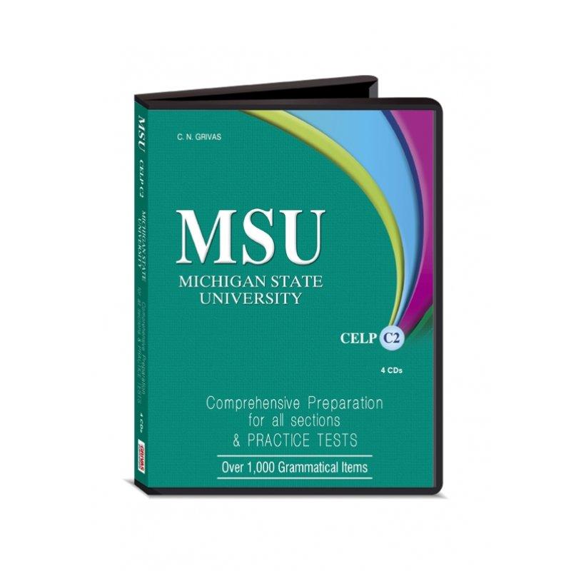 MSU CELP C2 AUDIO CDs (4)
