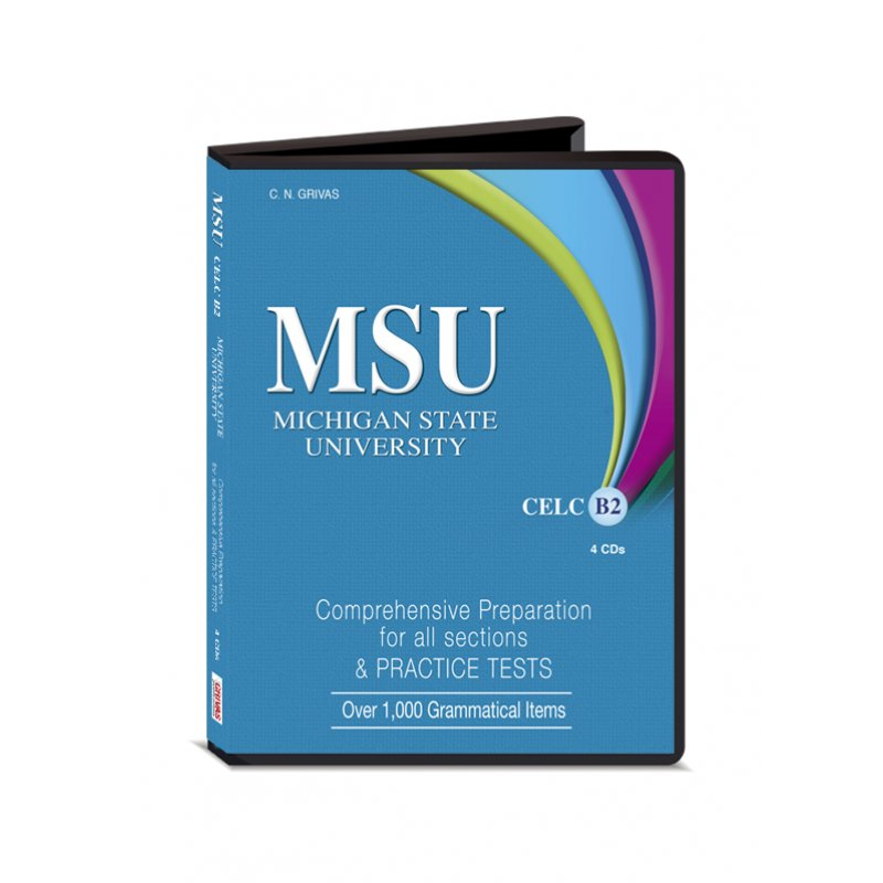 MSU CELC B2  AUDIO CDs (4)