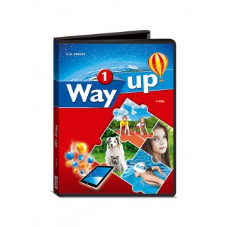 WAY UP 1 AUDIO CDs (4)