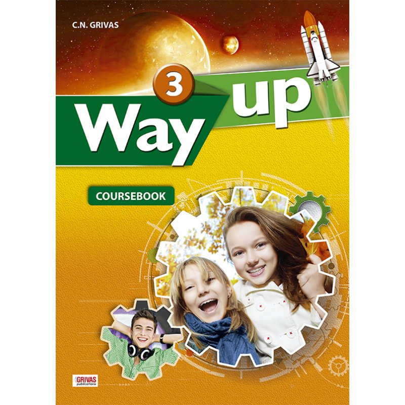 WAY UP 3 COURSEBOOK & WRITING TASK BOOKLET STUDENT'S SET