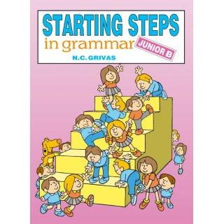 STARTING STEPS IN GRAMMAR JUNIOR B